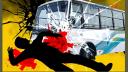 মাদারীপুরে বাসের ধাক্কায় ভ্যানচালকসহ দুইজন নিহত