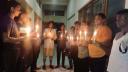ধামইরহাটে শোকের মাসের প্রথম প্রহরে ছাত্রলীগের মোমবাতি প্রজ্জলন