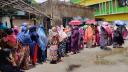 নারায়ণগঞ্জে টিকা দিতে গিয়ে ভোগান্তির শিকার
