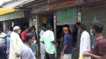 করোনা প্রতিরোধে নো মাস্ক নো সেল কর্মসূচি