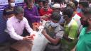 নোয়াখালীতে কর্মহীনদের মাঝে খাদ্য সামগ্রী বিতরণ