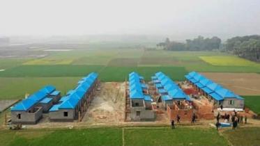 মুজিববর্ষে পাবনায় ১ হাজার ৮৬ পরিবার পাবে পাকা ঘর