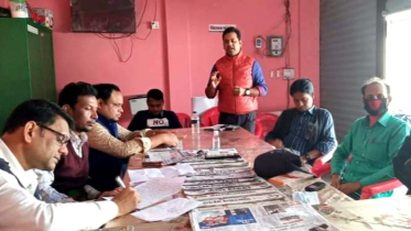 সরাইল উপজেলা প্রেসক্লাবের এজিএম সম্পন্ন