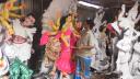 ব্রাহ্মণবাড়িয়ায় প্রতিমা তৈরির ধুম, কারিগররা হতাশ