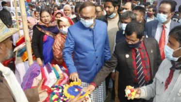 রাজশাহীতে মাসব্যাপী বিসিক-ঐক্য উদ্যোক্তা মেলার শুরু