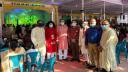 পূজামণ্ডপে শুভেচ্ছা বিনিময়ে সম্প্রীতি বাংলাদেশের প্রতিনিধিদল