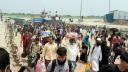 শিমুলিয়া-বাংলাবাজার নৌরুটে আজও যাত্রীর ঢল