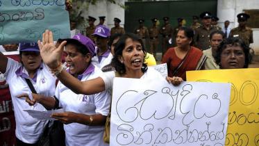 গৃহকর্মীদের নিবন্ধন করছে শ্রীলঙ্কা সরকার