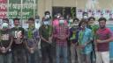 জয়পুরহাটে জেলা ছাত্রলীগের উদ্যোগে গাছের চারা বিতরণ