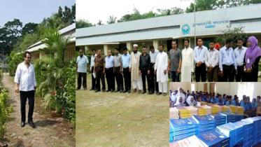 শিক্ষার মানে এগিয়ে পিরোজপুরের তুষখালী কলেজ