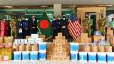 যুক্তরাষ্ট্র দূতাবাস করোনা মোকাবেলার সরঞ্জাম দিয়েছে পুলিশকে
