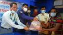 ভালুকা প্রেসক্লাবের উদ্যেগে ১শ পরিবার পেল ঈদ উপহার