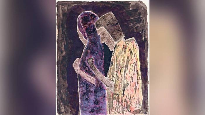 কবিগুরু রবীন্দ্রনাথ ঠাকুরের আঁকা সেই নামহীন ছবিটি