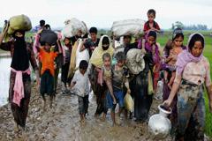রাখাইনে নিরীহ মানুষের ওপর নির্যাতন করা হয়নি : মিয়ানমার সেনাবাহিনী